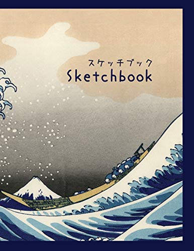 Sketchbook: 8.5 x 11 Large Blank Pages with White Paper.An Artist...