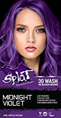 Midnight Violet is Best for Blondes Rich Velvet Color Conditions While You Color With Baobab & Quinda Extracts