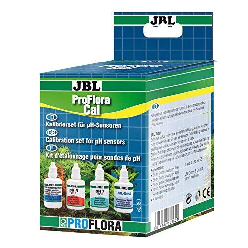 JBL ProFlora Cal 60360 Komplettset zur Kalibrierung, Reinigung und Pflege von pH-Elektroden für Aquarien