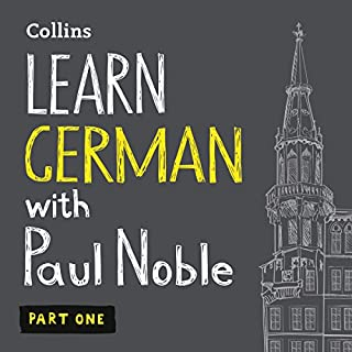 Learn German with Paul Noble, Part 1 audiobook cover art