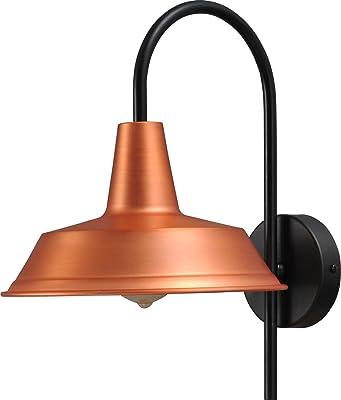 Super-héros Hôtel Lampe (l'Industrie, Loft, noir, large écran) Loft Applique murale Lampe de cuisine Luminaire Intérieur Industrie Lampe Couloir