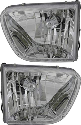 JP Auto Headlight Compatible With Mercury Mountaineer 1998 1999 2000 2001 Driver Left And Passenger product image