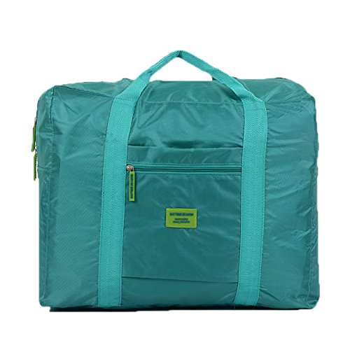 Opvouwbare waterdichte reishandtas koffer opbergtas grote capaciteit schoudertassen Blauw