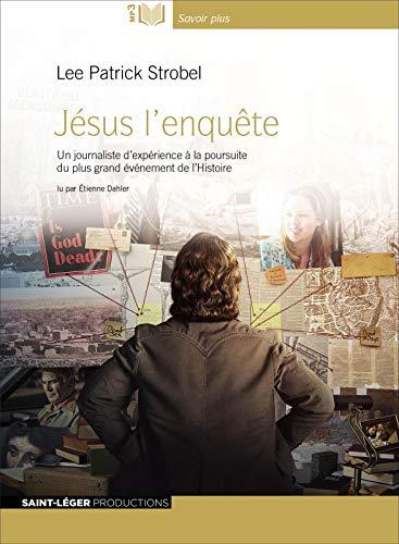 Jésus l'enquête audiobook cover art