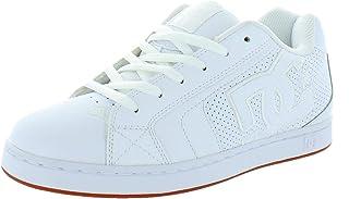 DC Net, Scarpe da Skateboard Uomo, Gum Bianco Bianco, 40.5 EU