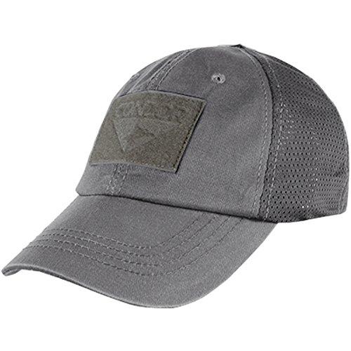 CONDOR Mesh Tactical Cap (Graphite, One Size Fits All)