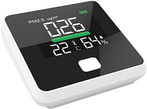 Sangmei PM2.5 Air Quality Monitor Digital Gas Analyzer Duty Sensor Air Detector Home LED Display Temp And Humidity Test Eq...