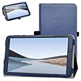 Bige for VUCATIMES N7 Tablet Case,PU Leather Folio 2-Folding Stand Cover for VUCATIMES N7 7-Inch Tablet,Dark Blue