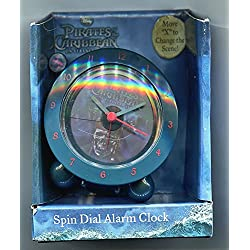 Pirates of the Caribbean Spin Dial Alarm Clock Two Pictures