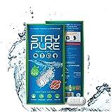 Water Filter Cartridge Purifier for Bottle, Pitcher, Jug, Jar, Container -Balances pH, Alkaline - Portable Personal StayPure Pod Mini