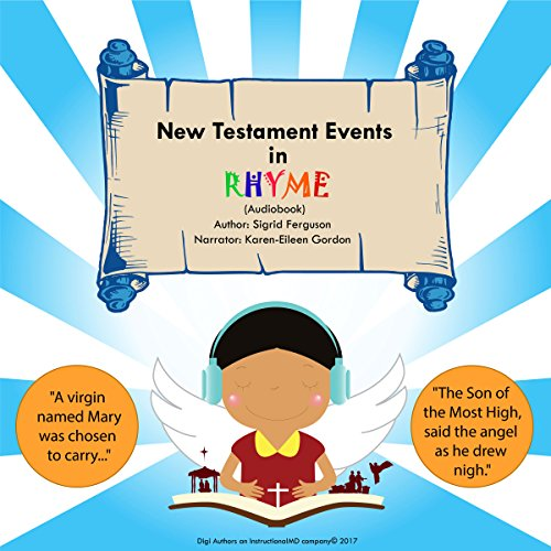 New Testament Events in Rhyme audiobook cover art