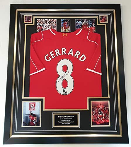 Steven Gerrard Trikot Liverpool mit Autogramm