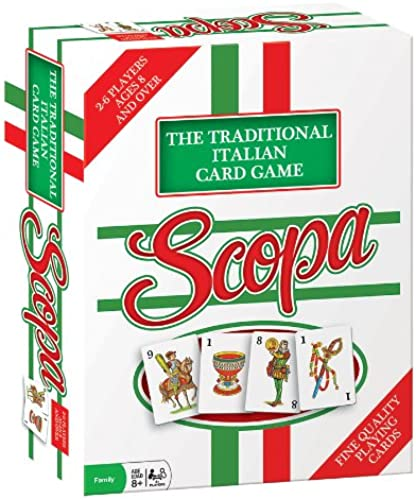 Scopa Traditional Italian voitured Game