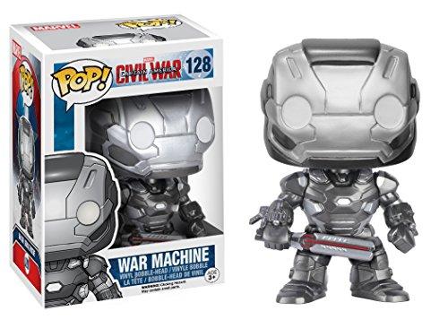 Funko Pop Máquina de Guerra (Capitán América: Civil War 128) Funko Pop Capitán américa