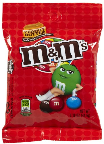 M&M Peanut Butter 5.1 OZ (144g)