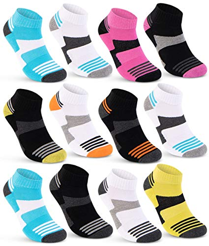 6 oder 12 Paar Sneaker Socken Damen Sportsocken verstärkte Frotteesohle 36850/26 (35-38, 12 Paar)