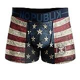 No Publik Boxer Homme Microfibre USA