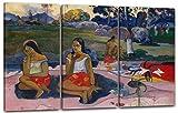 Stampa su Tela 3 Parti(120x80cm): Paul Gauguin - Primavera Sacra: Sogni Dolci (