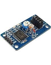 HALJIA PCF8591 AD/DA módulo convertidor analógico a Digital y analógica a Digital virotillo Compatible con Arduino