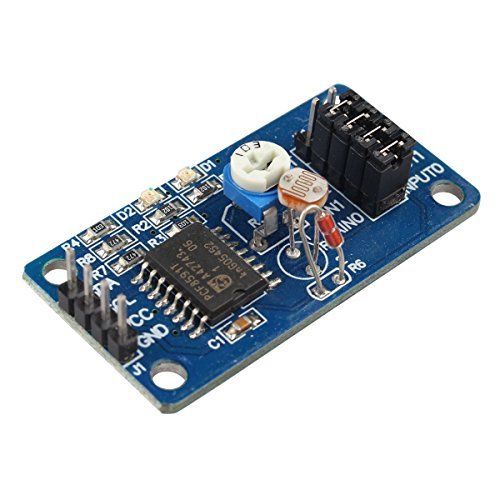 HALJIA PCF8591 AD/DA Konverter Modul Analog zu Digital und Analog zu Digital-Wandlung Kompatibel mit Arduino