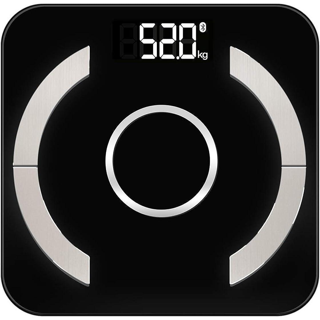 マートビジネス移動TYMD 体重計電子体脂肪ホームスマートパーソン体重正確な測定脂肪計 ヘーグレン電子秤