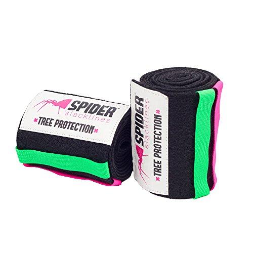 SPIDER SLACKLINE 14011 - Tree Protection Baumschutz XL - Tree Wear Slackline Schutz Für Bäume - Länge 200 cm