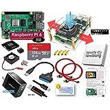 Raspberry Pi 4B Server 8GB エキスパートセット (高速型128GB MicroSD, 18W電源, Digital USB Cablae, Cooling FAN Case, USB3.0 SATAアダプター)