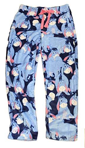 Eeyore Disney Womens Pajamas Minky Fleece Sleep Lounge Pants (XXX-Large (22W-24W))
