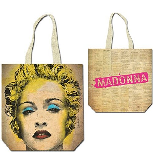 Madonna - Pop Ikone Damen Shopper Tasche Celebration - 40 x 39 cm