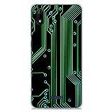 1001coques Coque en Silicone pour Wiko Y60 - Texture Circuit Geek
