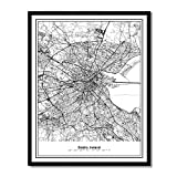 A city view translated into a fascinating networked grid pattern using original contemporary abstract graphic techniques. Each artwork offers a unique aesthetic look and feel. Discover your favorite city landmark or spot of memory in the hidden graph...