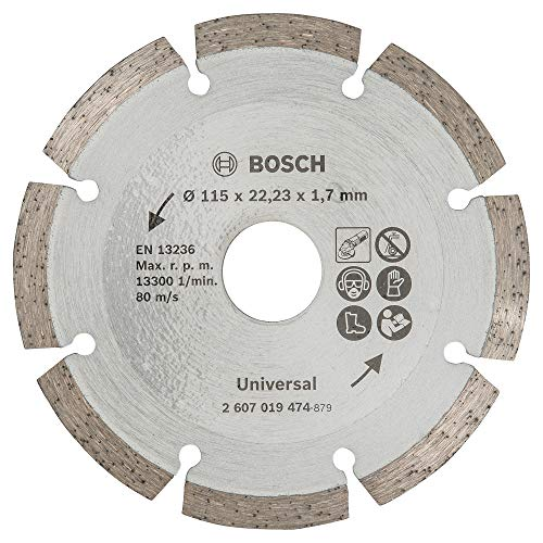 Bosch 2607019474 Disco Diamantato Universale, 115 mm