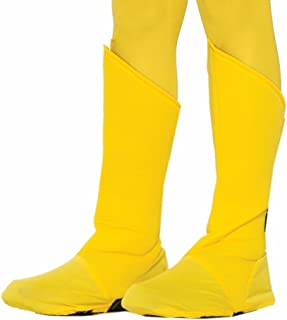 yellow boot covers