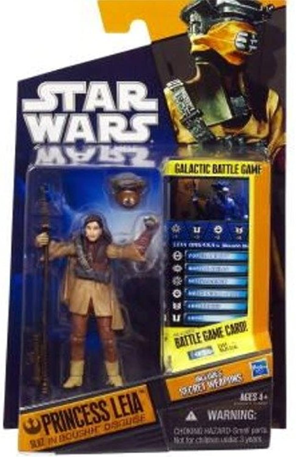 Princess Leia in Boushh Disguise  Star Wars 2010 Saga Legends Action Figure