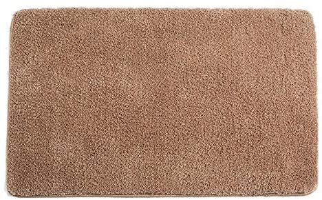 Binnendeur Mat Voordeur Mat antisliprubber Rear Door Mat Magic Interne Dirt Catcher Entree Carpet Machine wasbaar Deur Carpet-Brown HAOSHUAI (Color : Brown, Size : 16 x 24 inch)