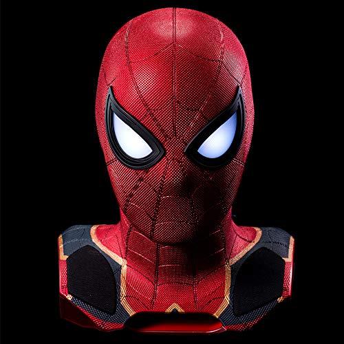 Camino International Marvel - Enceinte sans Fil - Avengers 3 - Spiderman - Tete 1:1 avec Projecteur