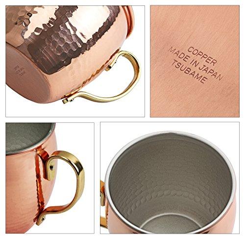 パール金属 日本製 マグカップ 500ml 燕人の匠 純銅製槌目 新潟県燕市製造 HB-7939