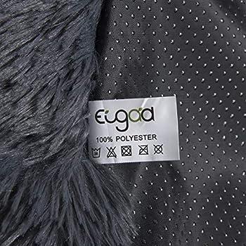 EUGAD 0005GD Lit pour Chien Lavable et Amovible,Coussin de Chien en Peluche canapé pour Animaux de Compagnie avec Fond étanche 50x20cm