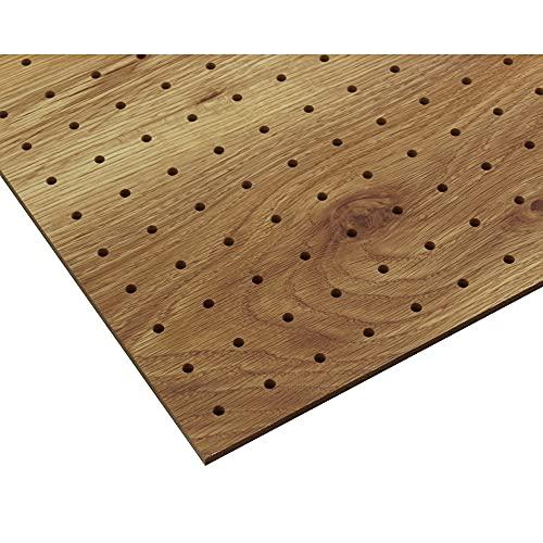光(Hikari)ヴィンテージボードパンチングボード有孔ボード600x450x5.5mm古木調穴ピッチ:25mmPGMBD46-2