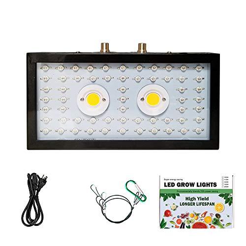 HACKK Pflanzenlicht 1500W LED-Pflanzenwachstumslicht Das Innen-Dual-Chip-COB-Pflanzenlicht Eignet Sich für Den Anbau Von Obst Und Gemüse Im Gewächshaus