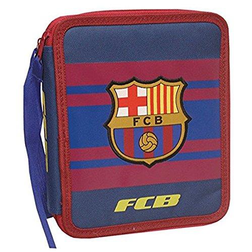Futbol Club Barcelona- Plumier 2 Pisos Grande (CYP Imports EP-662-BC)