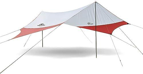 XGYUII Camping Tente baches imperméable au Vent Coupe-Neige hamac Pluie Mouche abri Ripstop Parasol en Plein air randonnée Plage Sac à Dos Voyage