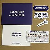 SUPER JUNIOR Beyond Live AR トレカ グッズ チケット シール ステッカー
