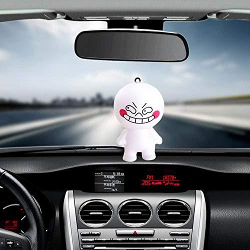 KIU Auto Ornament Leuke Decoratie PVC Poppen Automobiles Interieur Dashboard Grappige Cartoon Speelgoed Mooie