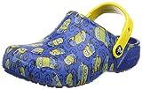 Crocs Fun Lab Minions Graphic Clog Kids, Unisex Nios Zueco, Azul (Blue Jean), 23-24 EU