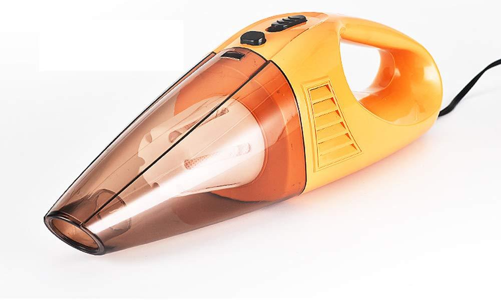 YRRC-MZ Aspirador de Coche portátil de Mano aspiradora inalámbrica, Cable Dos Potente ciclón Aspirador, 12V Seguro Coche Alta Potencia de Mano aspiradora,wiredyellow: Amazon.es: Hogar