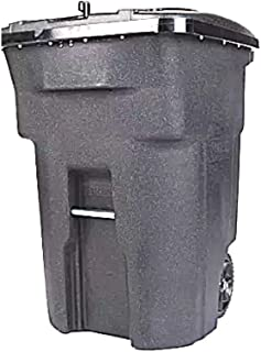 Bear Resistant Garbage Can Bin Animal Raccoon Rodent Safe Outside Heavy Duty 63 Gal Large Durable Roll & ebook