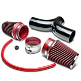 Pontiac Super Chief Performance Air Intake Systems - DNA motoring AIPBK-CC57L-RD Short Ram Air Intake System,Red