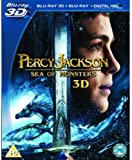 Percy Jackson Sea Of Monsters (Blu-Ray 3D) [Edizione: Regno Unito] [Reino Unido] [Blu-ray]