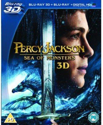 Percy Jackson Sea Of Monsters (Blu-Ray 3D) [Edizione: Regno Unito] [Reino Unido] [Blu-ray]